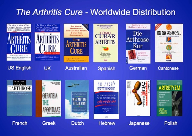 Arthritis Cure Foreign Book List